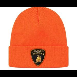 Supreme x Lamborghini Beanie Orange